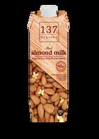 137 Degrees Brand Premium Quality original Almond Milk 1000ml, non dairy, sugar free