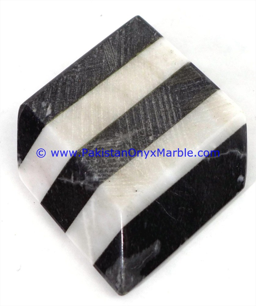 MARBLE CIGAR ASHTRAYS MULTI STONE STRIPS CHECKER MARBLE