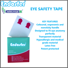 Latex Free Anaesthesia Patented Eye Safety Tape for Surgical Operations