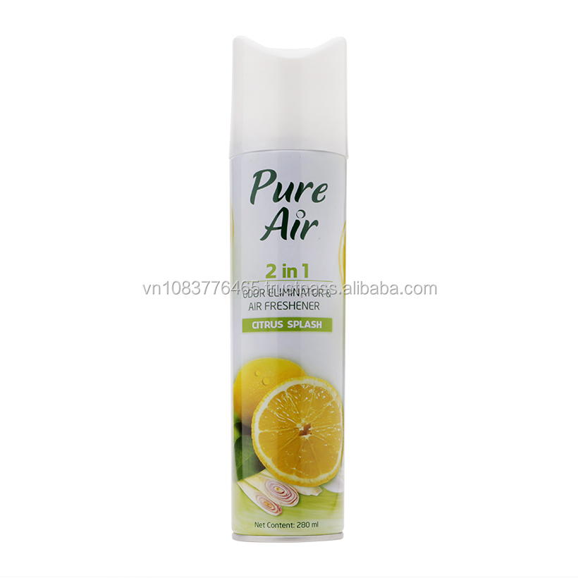 Air Freshener Pure 2 in 1_N0 Citrus splash for Home_ 280ml x 25