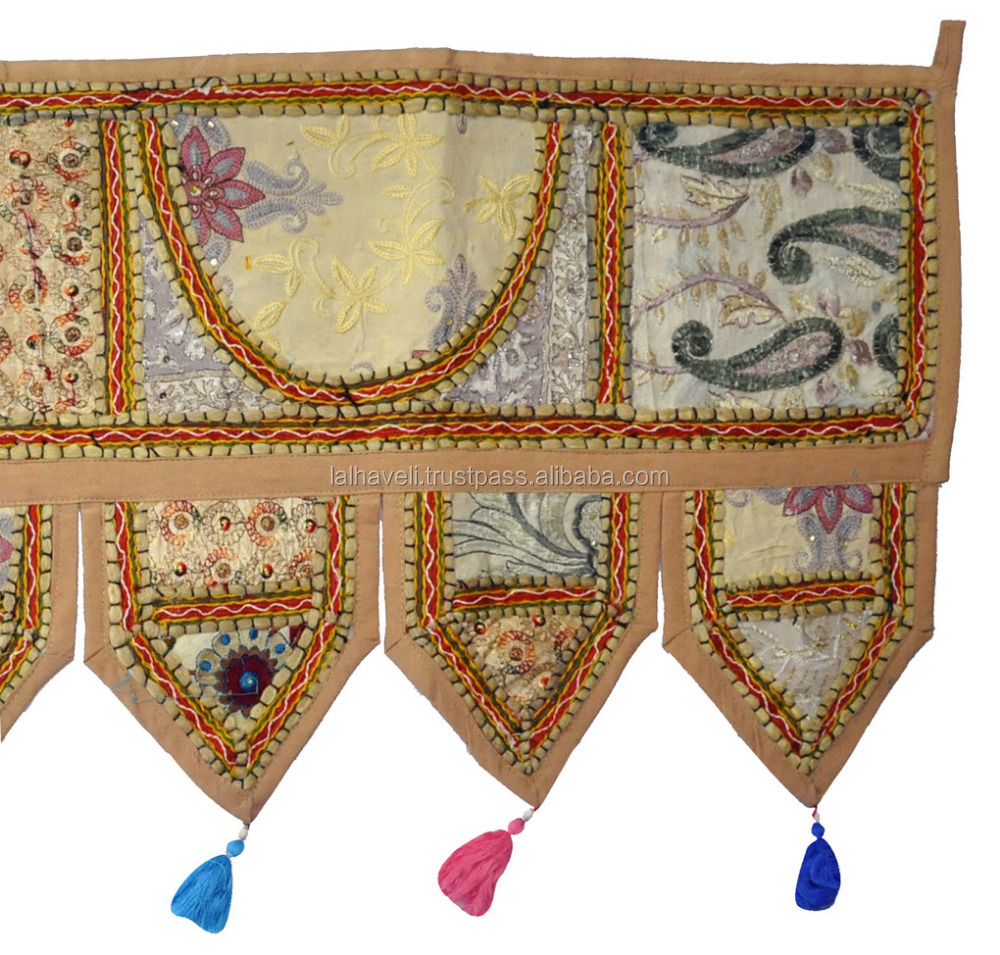 Embroidery and PachWork Toran / Door Hangings/Banjara Home Decor Door Hanging Cotton Whole Sale