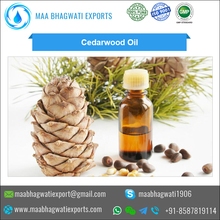 Bulk Sale On Organic Cedar Wood Essential Oil for Bulk Supply