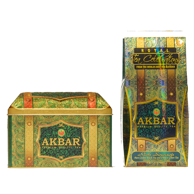 Akbar Treasure box / Rich Soursop Ceylon Tea