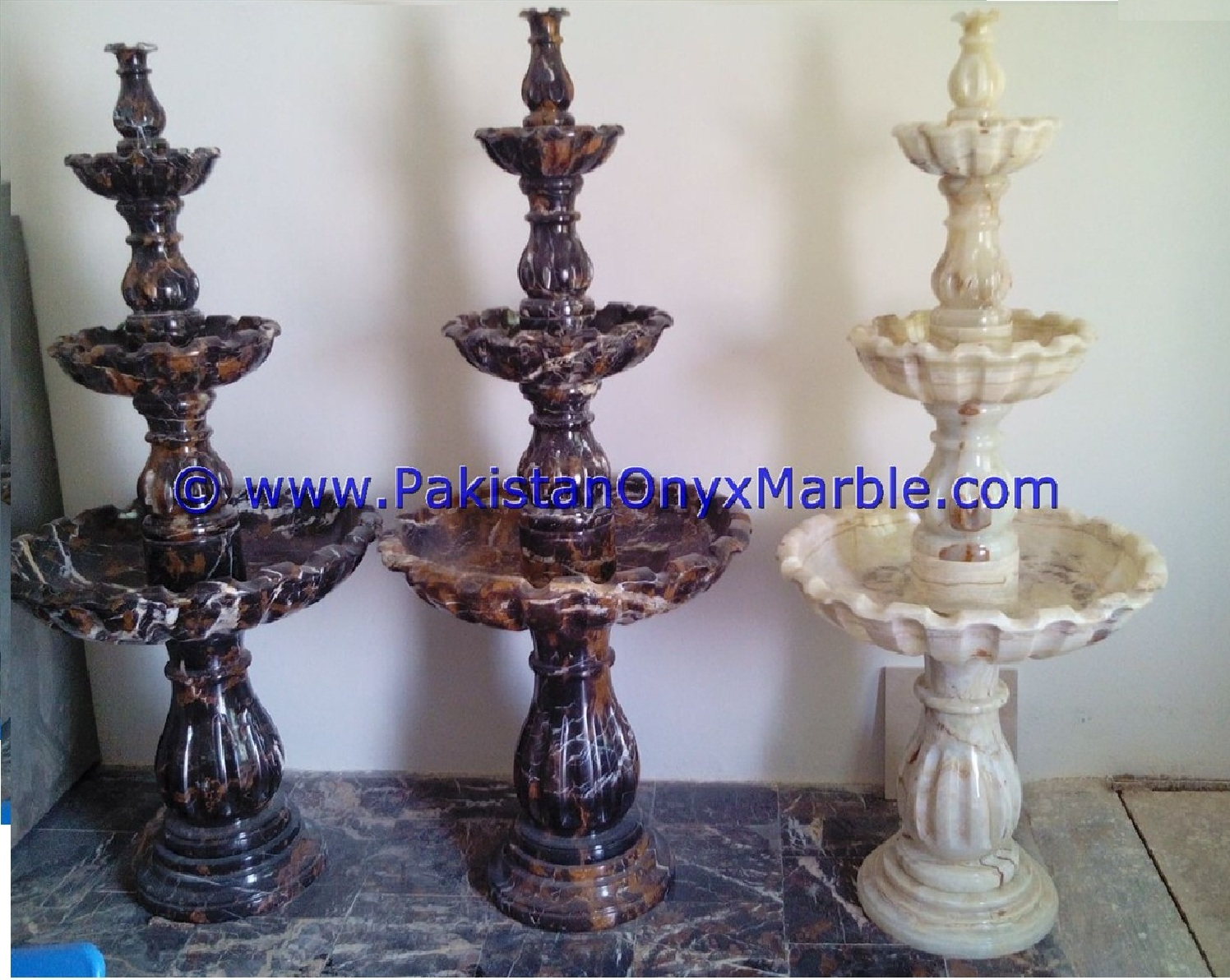 White Onyx Fountains, Indoor Fountains, Out Door Fouintains