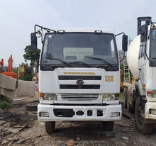 Used Nissan UD Diesel Dump Tipper Truck for sale