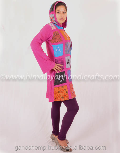 Ladies Long Hood Jacket LCSW 359