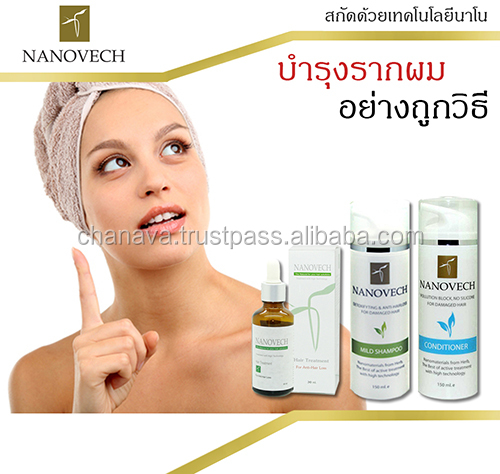 NANOVECH Hair and Scalp treatment And Shampoo & Conditioner