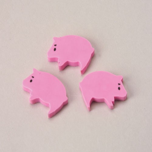 MINI PIG ERASERS (SOLD BY GROSS) #LM161