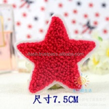 embroidered patch star