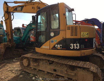 International Certificated Caterpillar Used Excavator 313 at low price, All Series Cat Hydraulic Digger for hot sale