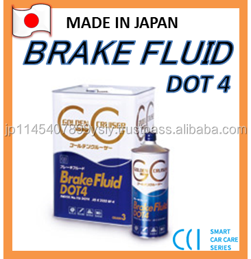Superior Japan Quality Lubricant Brake Fluid DOT4 , For Hard Driving