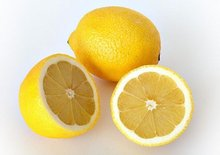 Quality Fresh Cut Yellow Lemon