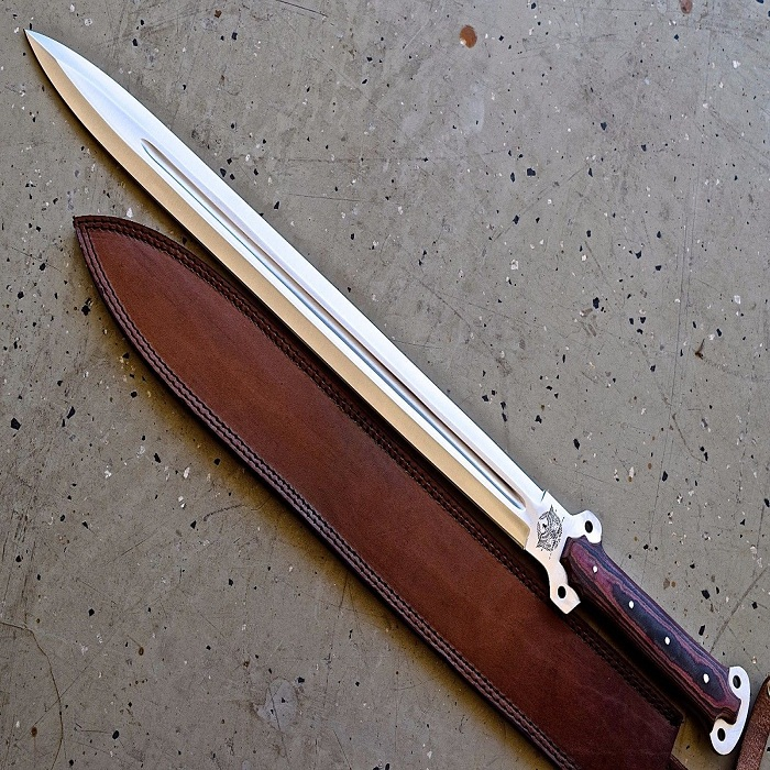 STAINLESS STEEL HUNTING SWORD