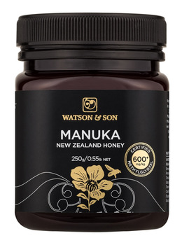 Watson & Son certified Manuka honey MGO 600+ | 250g