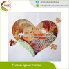 Personalized Heart Shape Puzzles Loving Couple Custom Jigsaw Puzzles