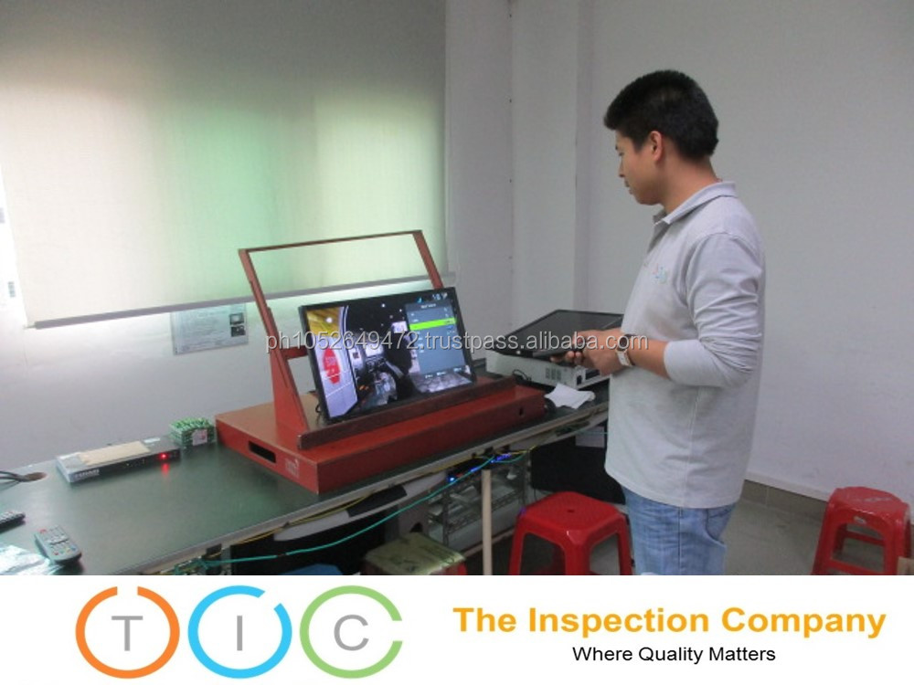 3rd Party Inspection service Myanmar quality control LCD TV