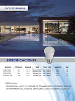 Residential LED Light Bulbs 3W 6W