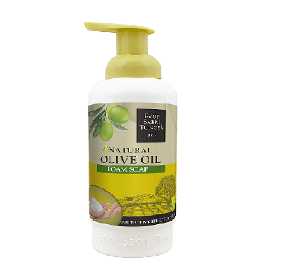 FOAM SOAP WITH NATURAL OLIVE OIL