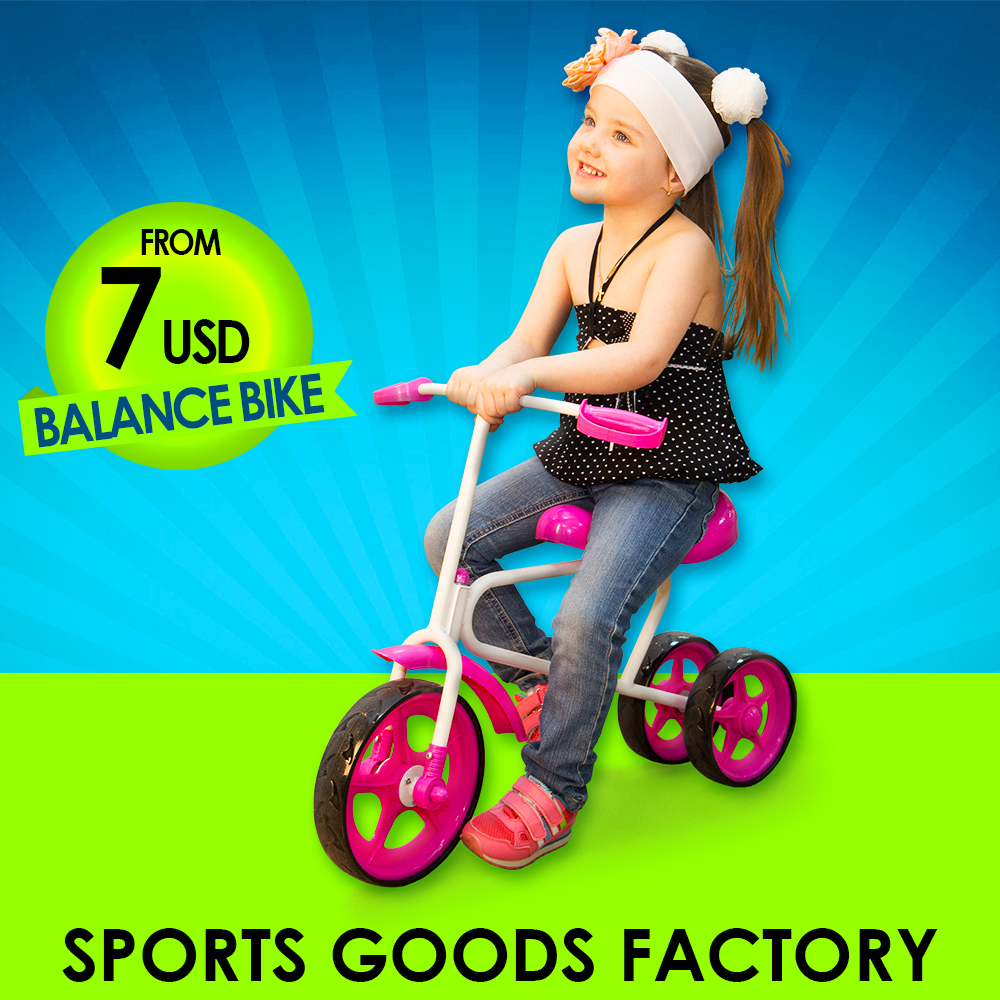 Balance bike For kids Rubber wheel Top quality Made in Russia