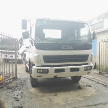 Isuzu used mixer truck CXZ on sale