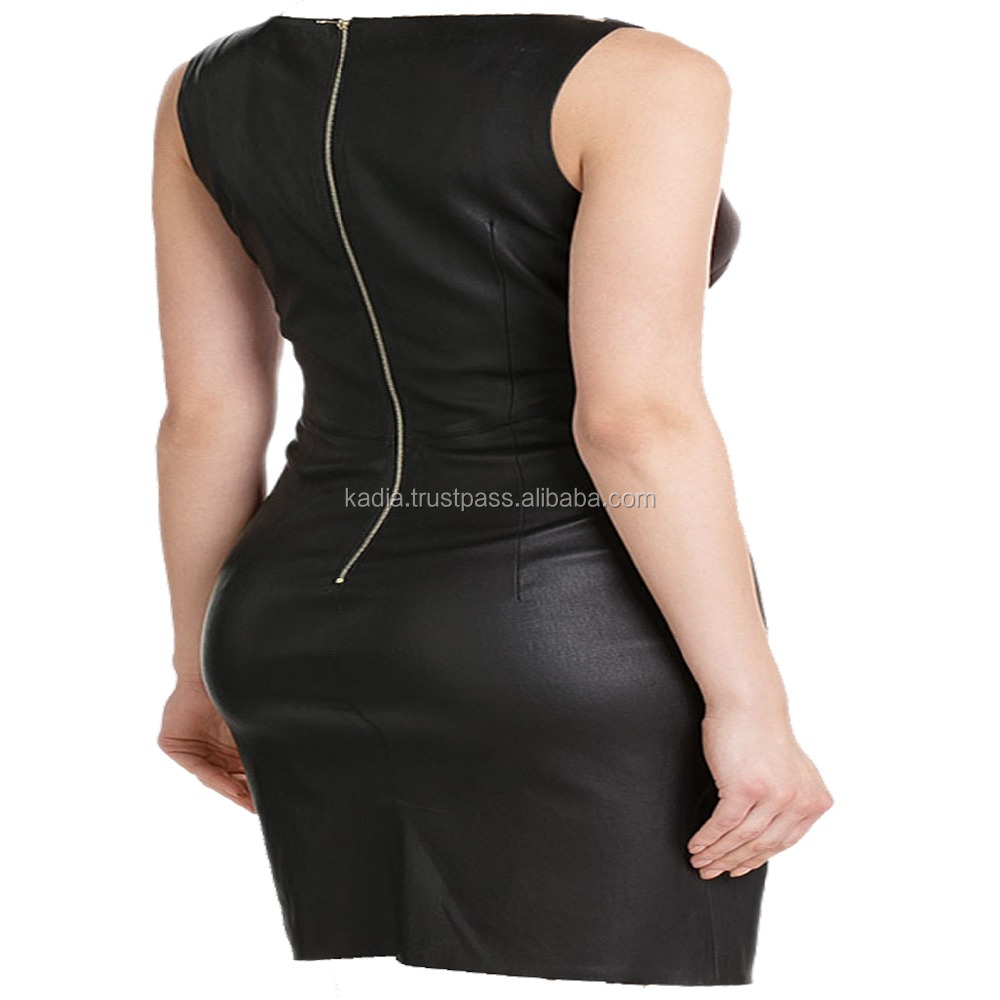 Ladies Leather Dress
