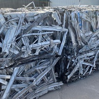 Pure Aluminum Extrusion 6063 Scrap
