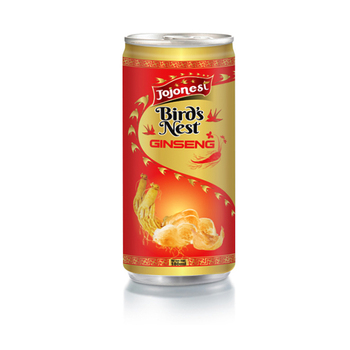 Vietnam Natural bird nest Drink with Orange Flavour