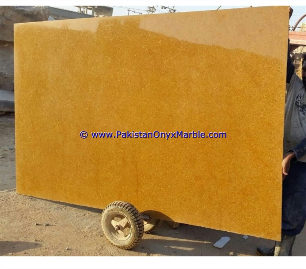 EXPORT QUALITY MARBLE SLABS INDUS GOLD NATURAL MARBLE
