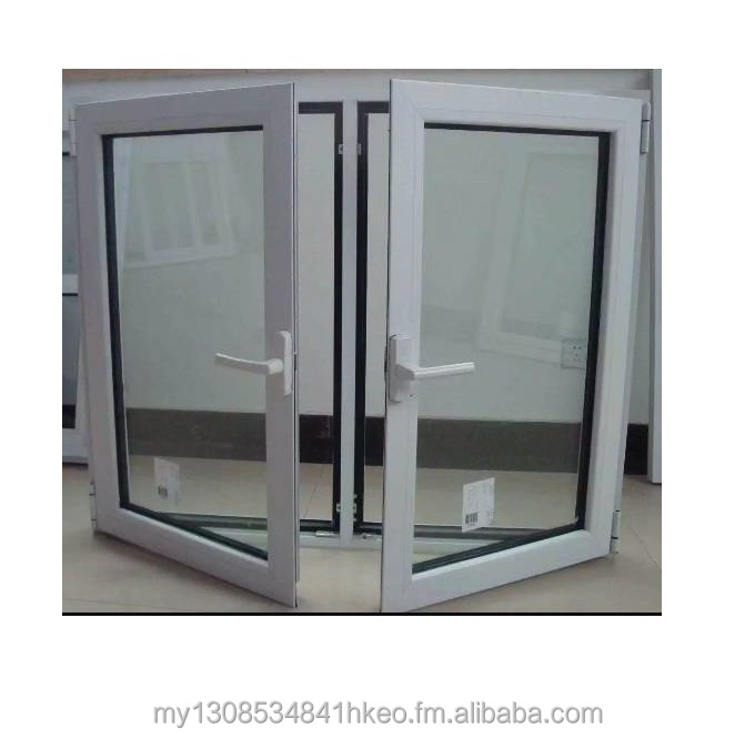 New Model White Aluminum Alloy Casement Swing Window