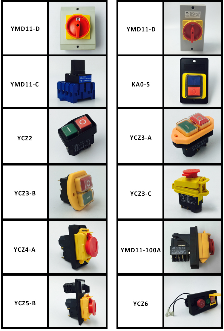 Wholesale YMZ12-32/4 electrical Combination switches Changeover rotary cam switch 4 pole position sliver contacts high voltage