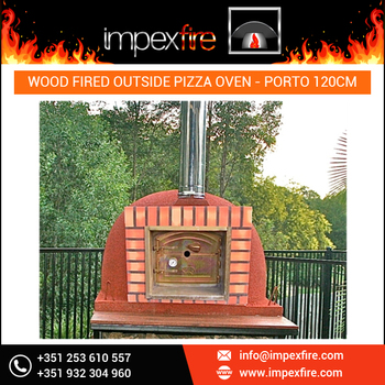 Outside Pizza Oven Wood Fired at Reliable Price