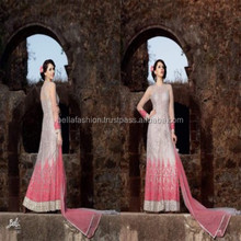 Bollywood Designer Woman Wear Heavy Fancy Embroidery Work Anarkali Suits Dresses