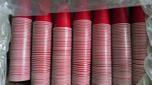 high quality 16oz ps Red disposable plastic Party Cups Lets party