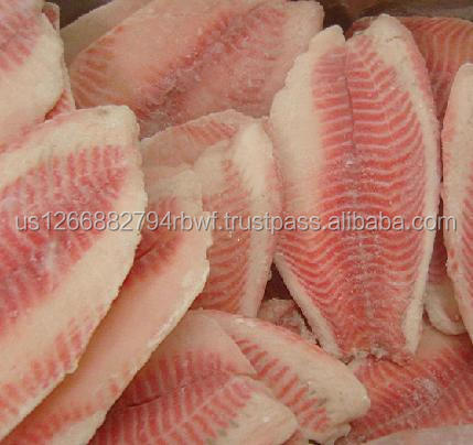 High Quality Seafood Product Red and Black Frozen Tilapia for sale