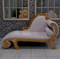 Luxury Wooden Carved Wedding Sofa Furniture Classic Style