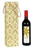 Cardboard And Cotton Paper Handicraft Storage Accessories Printed Wine Bottle Holder
