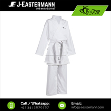 Kids Beginner White Karate Uniform made of cotton fabric, Kids Karate Suit, Karate Gi