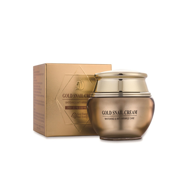 Best Selling high performance Korea 24K Gold Snail Whitening Anti-Wrinkle face cream