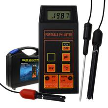 Digital pH / ORP mV / Temperature <strong>Meter</strong> Water Tester Replaceable pH ORP Electrode Detachable Temperature Probe