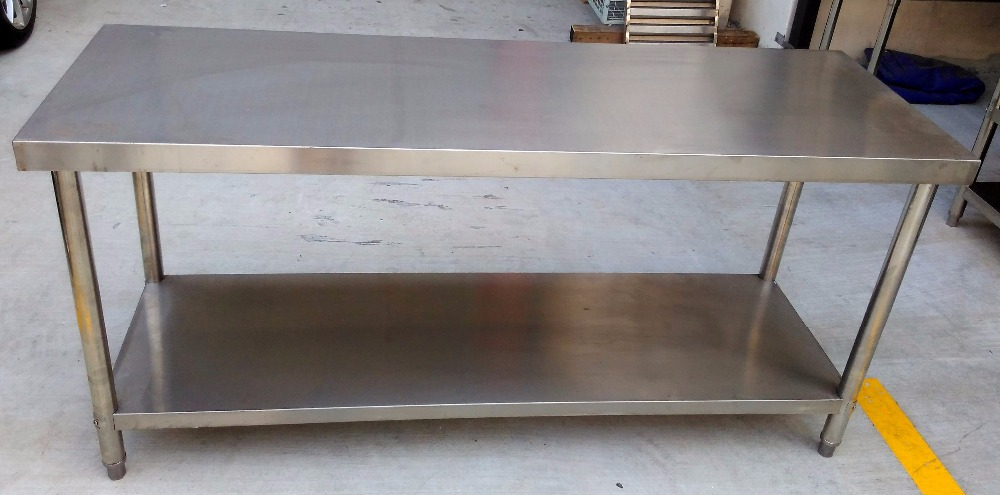 Stainless Steel Work Table / Work Bench (Brand New!)