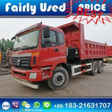2015 Made Used Foton Dump Truck of 6x4 Foton Tipper Truck 25-30 ton Capacity for sale
