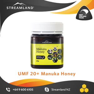 UMF certified Medical level Antibacterial New zealand Manuka UMF 20+ honey