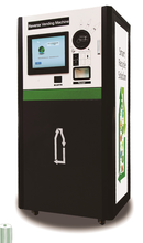 Indoor Reverse Vending Machine RVM Cans and Bottles with TV screen advertisement