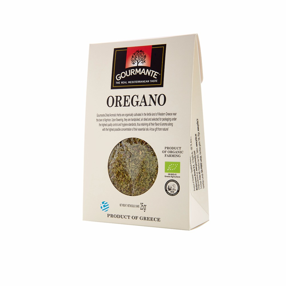 GOURMANTE BIO Oregano 25gr