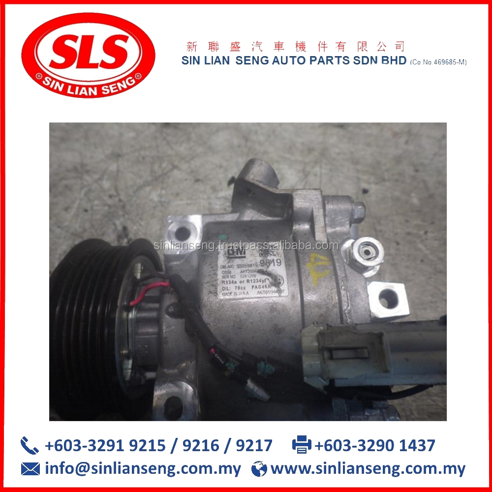 Car AIR Condition PUMP Spare Parts From Malaysia