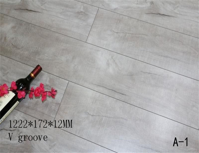 12mm wood texture AC4 durable hdf laminate <strong>flooring</strong>
