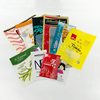 Three (3) Side Seal Vacuum Zipper Top Bags / Pouch with High Oxygen and Moisture Barrier Properties
