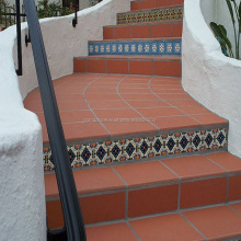 Mexican style terracotta tile for outdoor install resort yard and paving