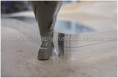Aluminium sheet, cut to size