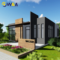 (WAS3505-110S)Modern Steel Prefab Villa Resort House with High Quality